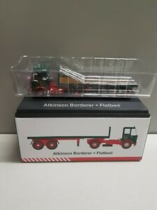 ATLAS 1:76 SCALE ATKINSON BORDERER FLATBED ARTICULATED TRUCK  A/65