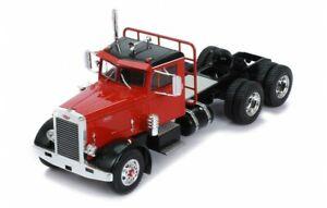 IXO MODELS TR070 Peterbilt 281 Rouge 1955 1/43 Camion Tracteur Miniature
