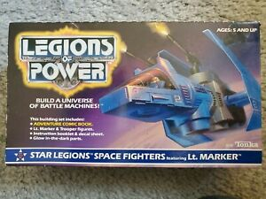Vintage 1986 Tonka Legions of Power Star Legions Space Fighters Box Number 8110