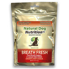 Breath Fresh 4 Dogs Stops Canine Oral Bad/Strong Breath Chicken Flavored Chews