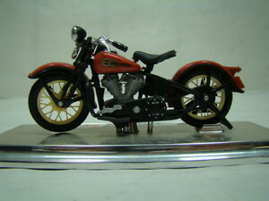 Harley Knucklehead 1936 Maestro 1:18 miniature motorcycle EPS16523