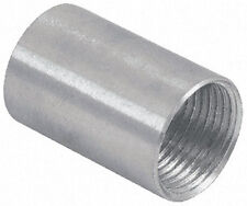 """(1 pc) NEW Aluminum Coupling Tubular Threaded 1"""" inch Connector Fitting Pipe"""