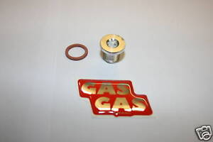 1GAS GAS TRIAL GEARBOX OIL FILLER BOLT/PLUG inc.WASHER -all models 1994 to 2021