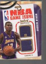 ANDREW BYNUM 2008-09 HOOPS HOT PROSPECTS NBA GAME ISSUE JERSEY NBA-AB  31/149