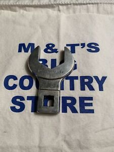 """Mac Tools USA 1/2"""" Drive SAE 1-3/8"""" Open End Crowfoot Wrench COV44"""