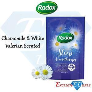 Radox Bath Salts Sleep Aromatherapy 900g Chamomile & White Valerian