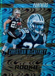 2017 Absolute Rookie Roundup #34 CHRISTIAN MCCAFFREY RC Carolina Panthers