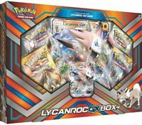 Lycanroc GX Collection Box Pokemon TCG Sun & Moon Sealed Booster Packs & Promo