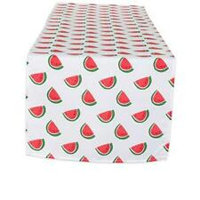 """New listing Summer Watermelon Table Runner Spilll Proof and Waterproof for Outdoor or 14x72"""""""