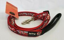 Red Dingo 4-6 FT Adjustable Bandana Red Dog Leash Size Medium