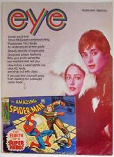 EYE MAGAZINE~SPIDER-MAN~MARVEL COMICS~1969~R CRUMB COMIX~POP CULTURE~JOHN ROMITA