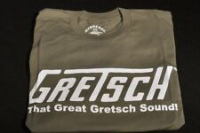 "GRETSCH ""THAT GREAT GRETSCH SOUND"" TEE SHIRT OLIVE SMALL"