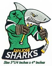 NEW San Jose Sharks Hockey NHL Sport Patch Logo Embroidery Iron,Sewing on Fabric