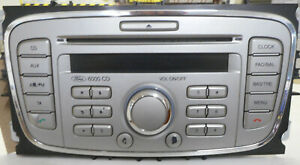 FORD MONDEO (2009) - CD 6000 PLAYER HEAD UNIT 8S7T18C815AA WITH CODE