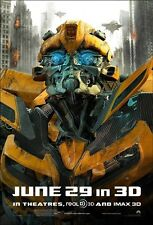 POSTER TRANSFORMERS 3 DARK OF THE MOON BUMBLEBEE #3