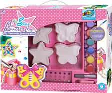 Jewelry Box Painting Kit,art activity,Star & Butterfly,great gift for girls