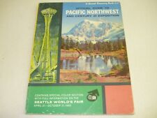 Seattle World's Fair 1962 Sunset Discovery Book Guide to Pacific Northwest