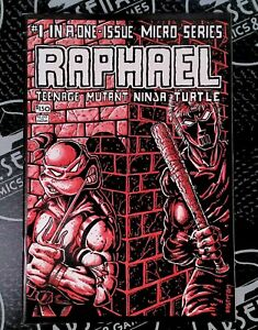 Raphael #1 1985 Mirage Studios Ninja Turtles Laird Eastman 1st Print RARE