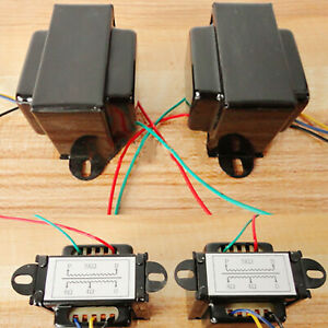 Single-ended 5K Power Output Transformer Tube Amplifier for 6P1 6P14 6P6 Cow New