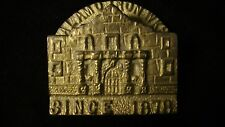 Antique Advertising Brass Paperweight, ALAMO IRON WORKS lot #327