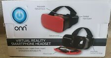 Virtual Reality Smartphone Headset Goggles~RED/BLACK~IPHONE,SAMSUNG,ANDROID
