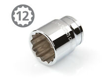 TEKTON 14223 1/2-Inch Drive by 1-1/8-Inch Shallow Socket, Cr-V, 12-Point