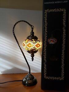 Turkish Handmade Mosaic Table Top Night Stand Lamp 115