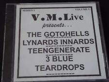 Various - VM Live Vol 5 The Gotohells Lynards Innards Teengenerate SEALED NEW CD