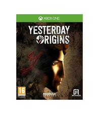 Pal version Microsoft Xbox One Yesterday Origins