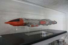"""SIDESHOW HOT TOYS PRODUCT ENTERPRISE ICONIC REPLICA 19"""" SPACE 1999 HAWK IX USED"""