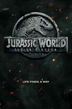 Jurassic World Fallen Kingdom- Teaser Logo  NEW ROLLED! 24x36