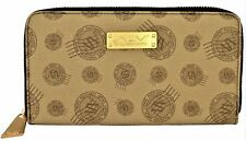 Portafoglio Donna Alviero Martini Marrone Wallet Woman Brown Made In Italy