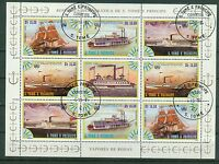 Sao Tome und Principe Kleinbogen 920 - 923 , o ,