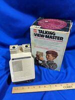 GAF TALKING VIEW-MASTER ORIGINAL BOX TOY VTG RARE Model 2020