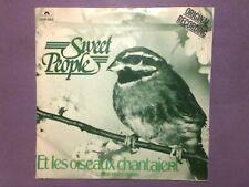 """Sweet People - Et Les Oiseaux Chantaient (7"""" single) picture sleeve 2001 963"""