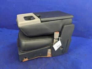 2015-2019 Ford F150 Pickup Truck Crew Cab Center Console Jump Seat Leather Cup
