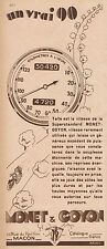 Y8568 Moto MONET & GOYON - Pubblicità d'epoca - 1931 Old advertising