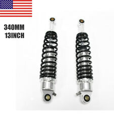 2ps 340mm 13'' Motorcycle Scooter Rear Shock Absorbers Fit Honda CB750 Universal