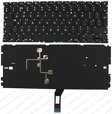 "Apple MacBook Air 13"" 2011 2012 2013 A1369 A1466 F69 Retroiluminado Teclado Reino Unido Layout"