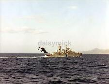 "Royal Navy HMS Exeter From HMS Cardiff Falklands War 1982, 6x5"" reprint photo"