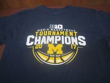 Michigan Wolverines  2017 Big Ten Men's Basketball Tournament Champions Large S8