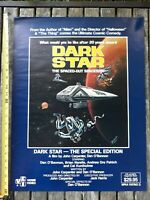 Vtg Dark Star The Special Edition Science Fiction SciFi Space Movie Poster 24x18