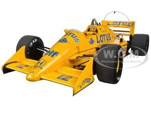 LOTUS-HONDA 99T #12 A. SENNA F1 JAPANESE GP (1987) 1/18 MODEL CAR AUTOART 88727