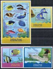MALEDIVEN MALDIVE 2000 Fische Fishes Poissons Pesci 3548-3571 + Block 464-466 **