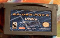 GBA Spider-Man 2 (Nintendo Game Boy Advance, 2004) Cart Only