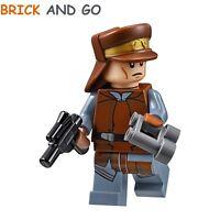 LEGO Minifig Figurine Star Wars SW638 NABOO Security Officer + Blaster NEUF NEW