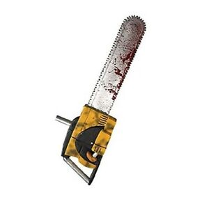 """Texas Chainsaw Massacre Leatherface 27"""" Chainsaw w/ Sound Costume Accessory"""