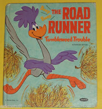 The Road Runner Tumbleweed Trouble 1971 Tell-A-Tale book Great Pictures! SEE!