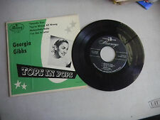 GEORGIA GIBBS tops in pops 4 song ep PICTURE SLEEVE MERCURY EP-1-4002  45