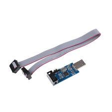 USBASP USBISP AVR Program Adapter 10 Pin Cable USB ATMEGA8 ATMEGA128 Arduino BIH